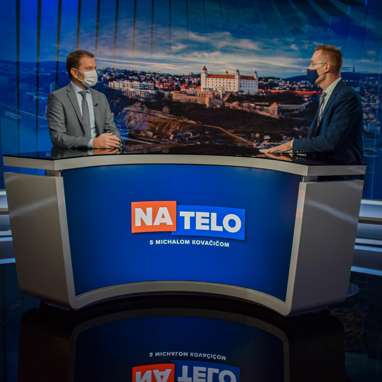 Na Telo: Eduard Heger (OĽaNO), Peter Žiga (Hlas) a Igor Matovič (OĽaNO)