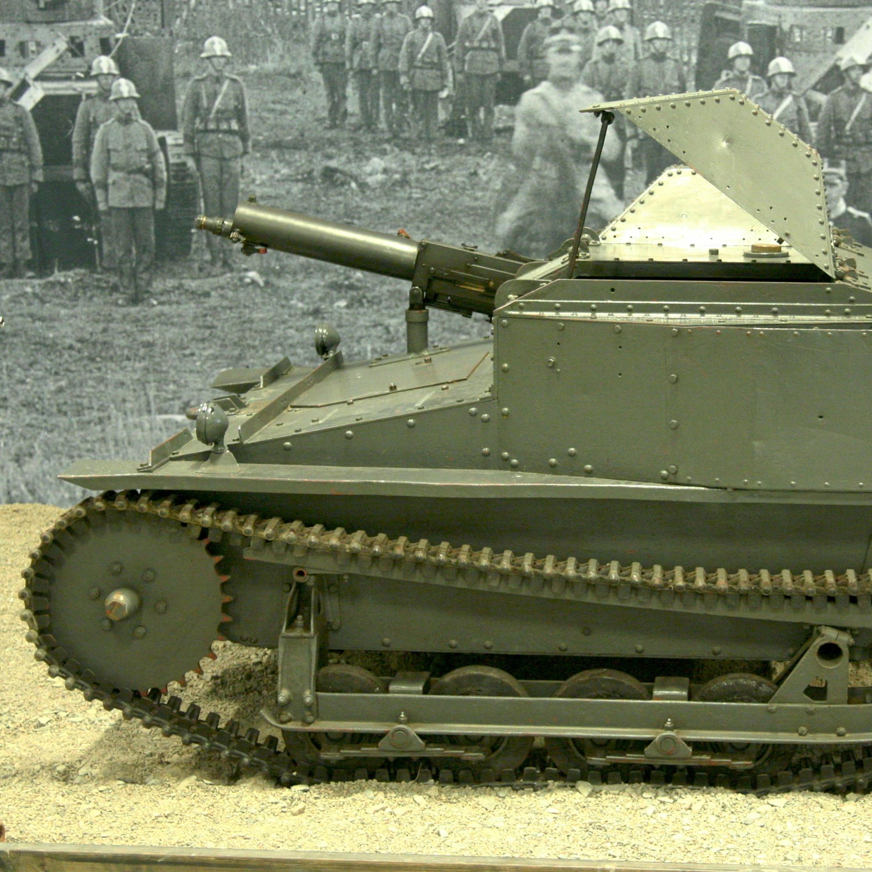 Stridsvagnens utveckling under mellankrigstiden