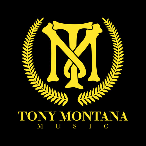 Надпись tony montana