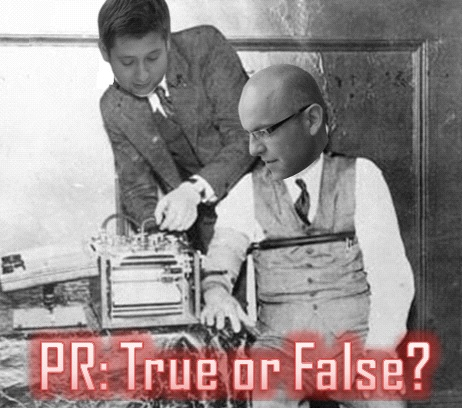 PR True Or False