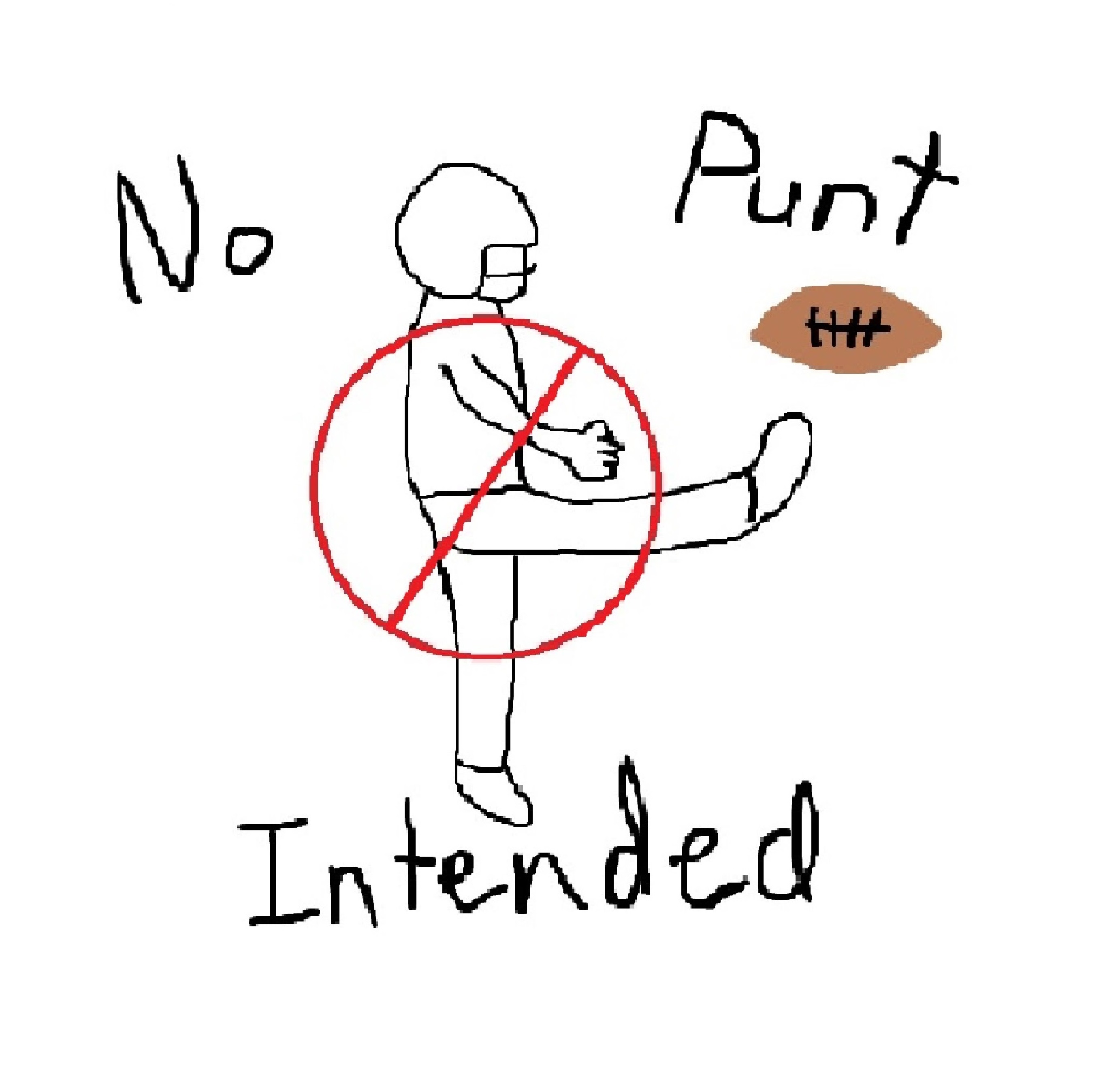 No Punt Intended