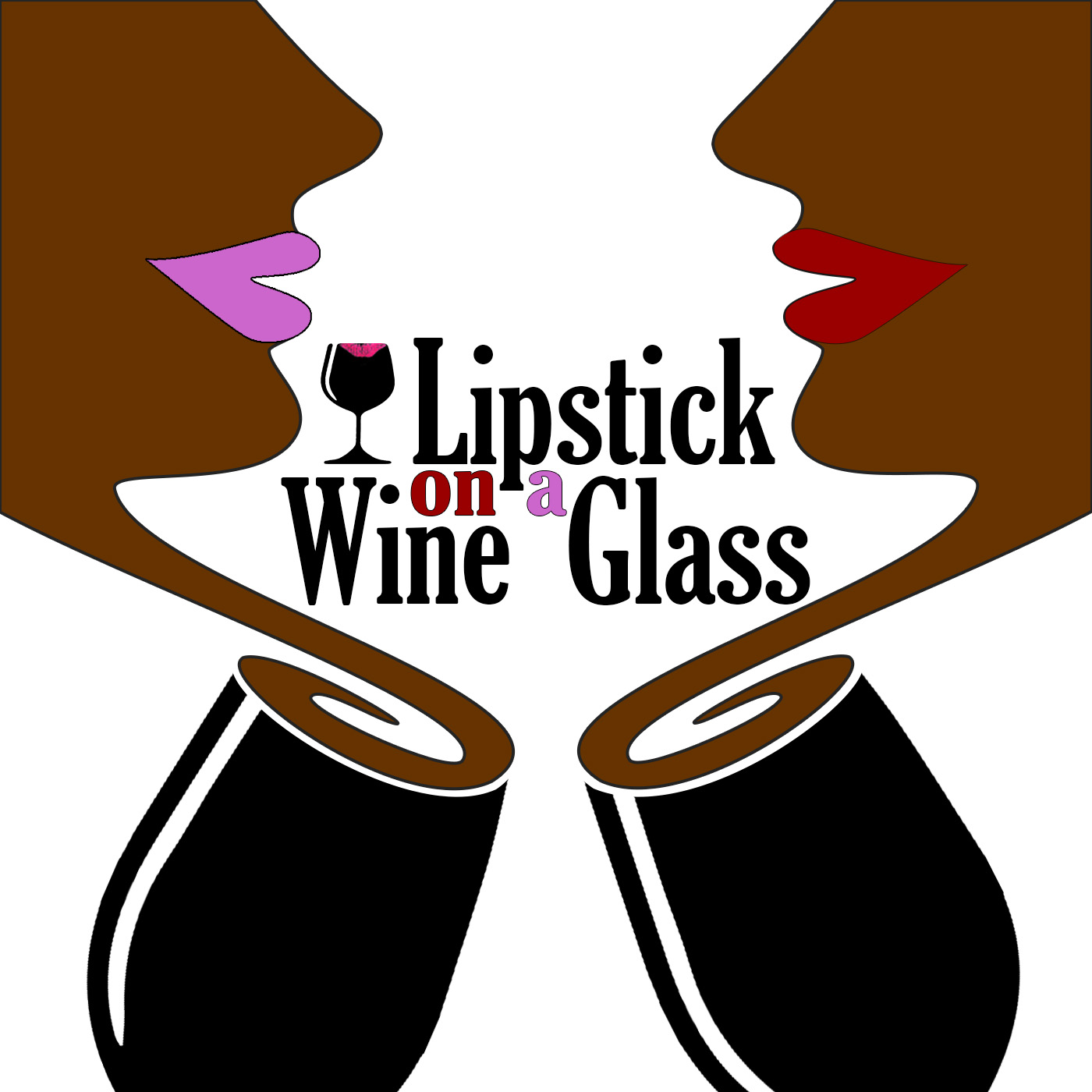 Lipstick On A Wine Glass