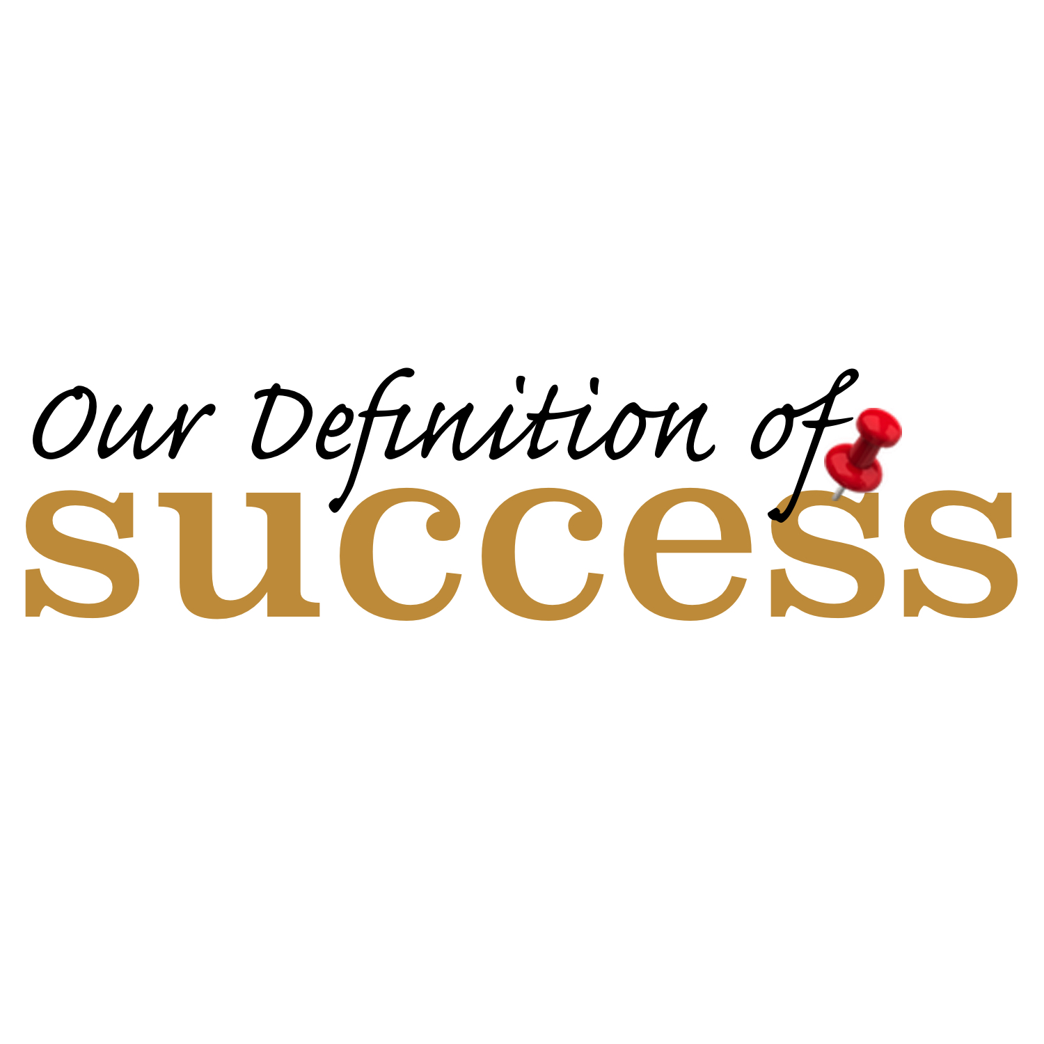 Our Definition of Success