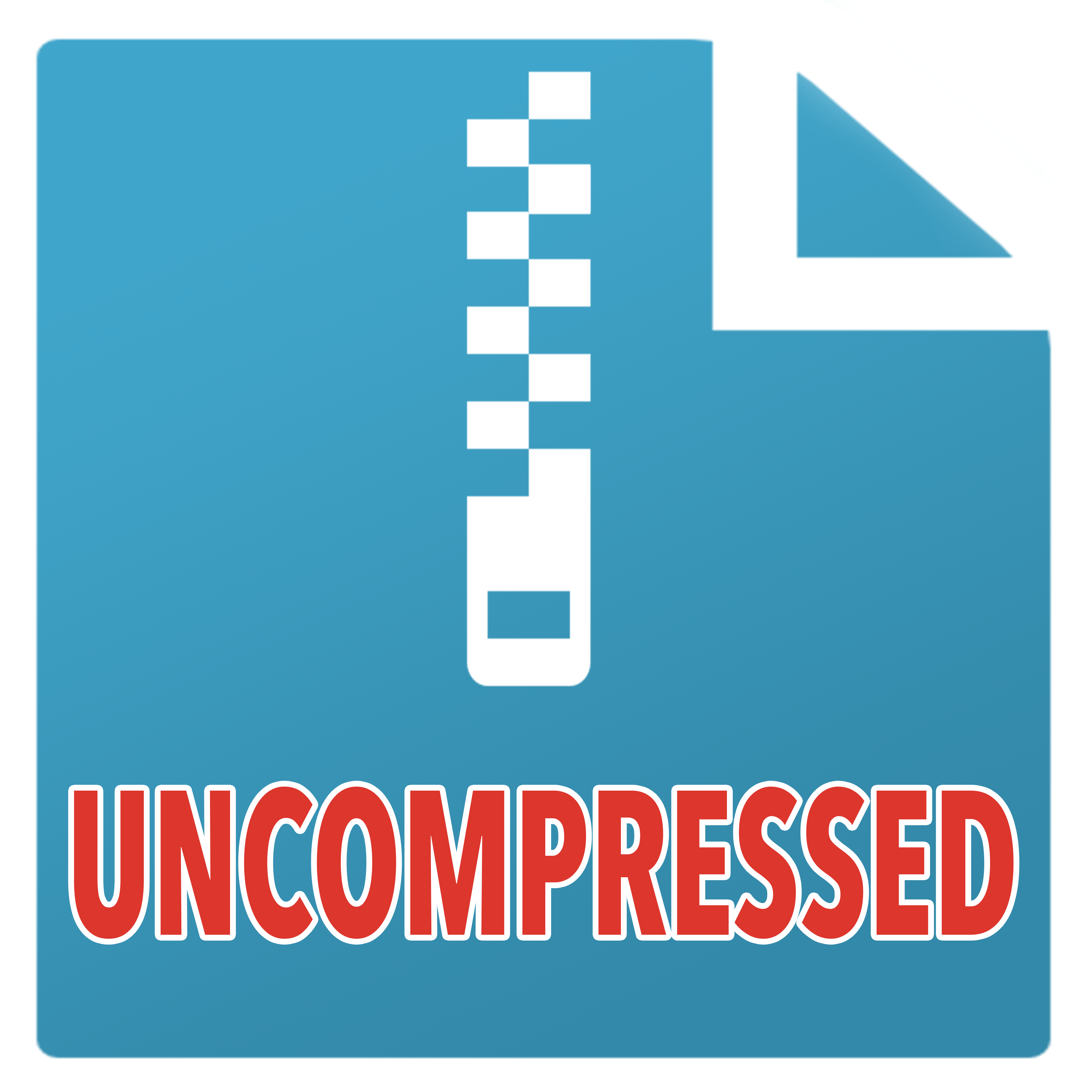 Uncompressed