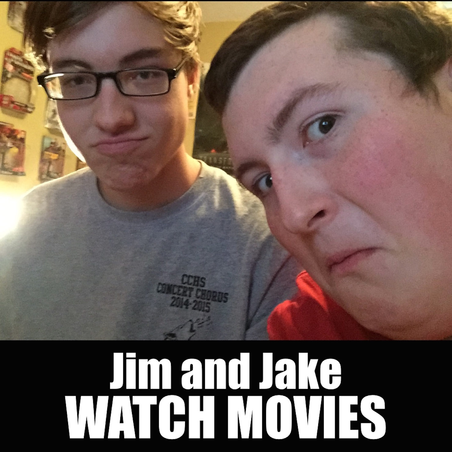 Jim and Jake Watch Movies