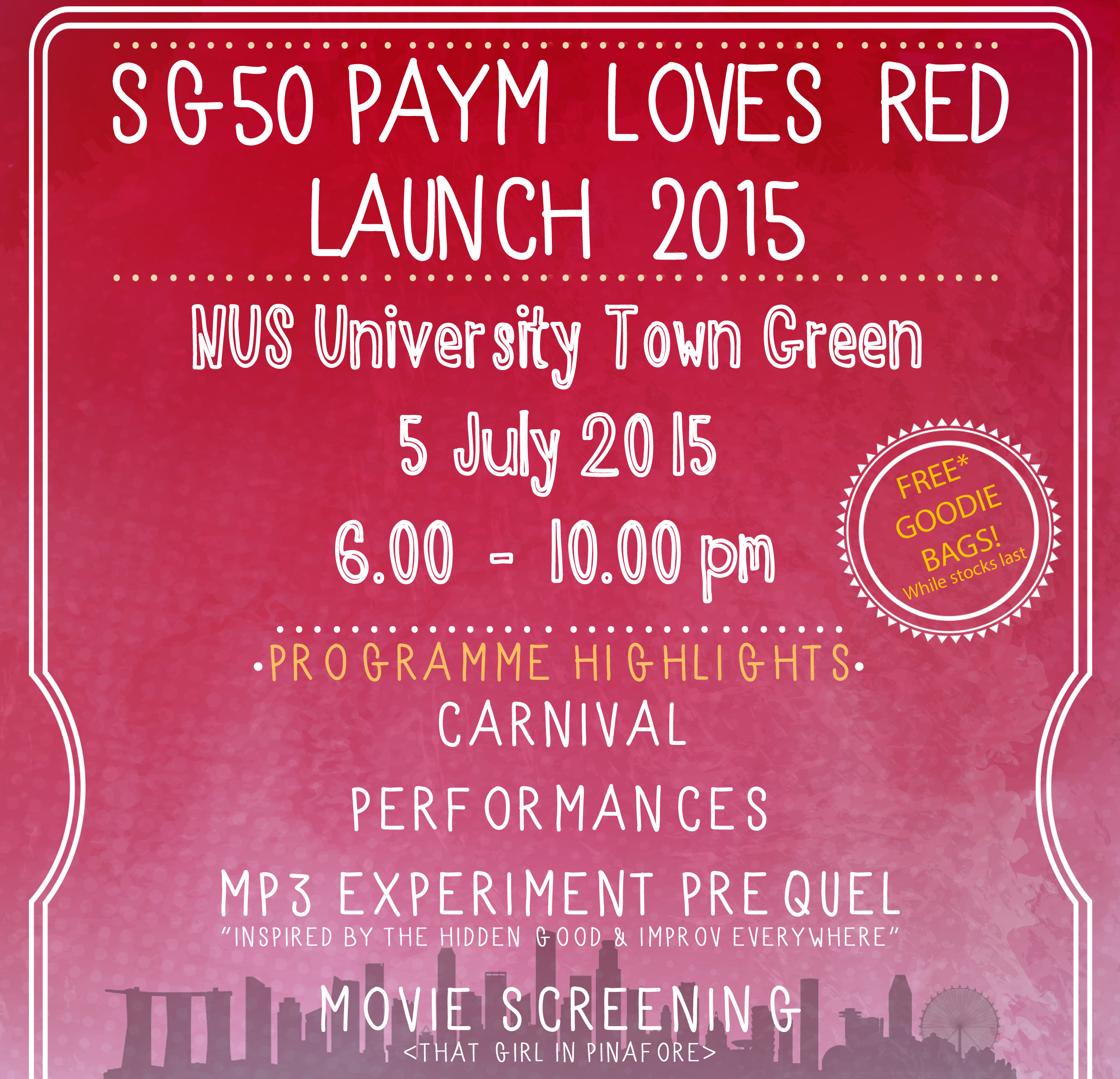 PAYM Loves Red Launch '15
