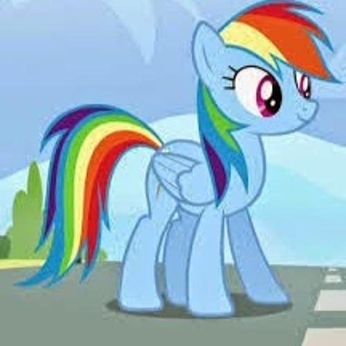 фото пони радуга дэш с очками