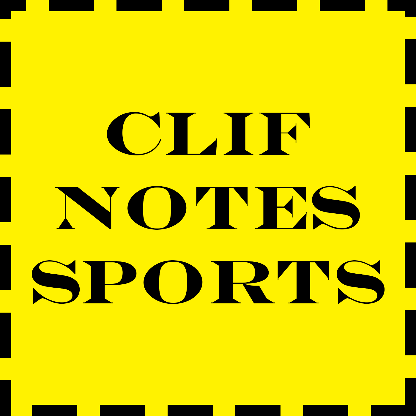 Clif Notes Sports