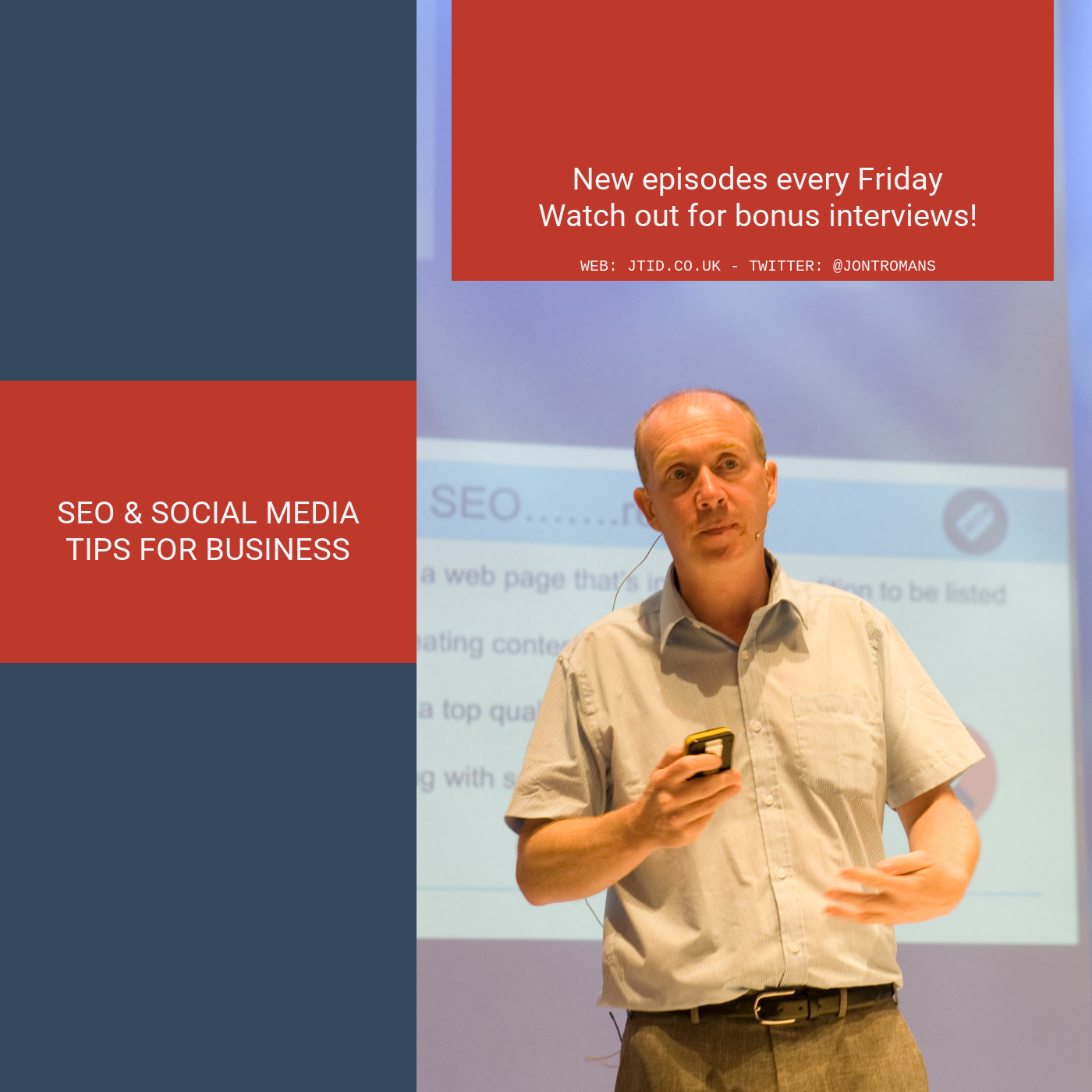 SEO & Social Media Tips Podcast