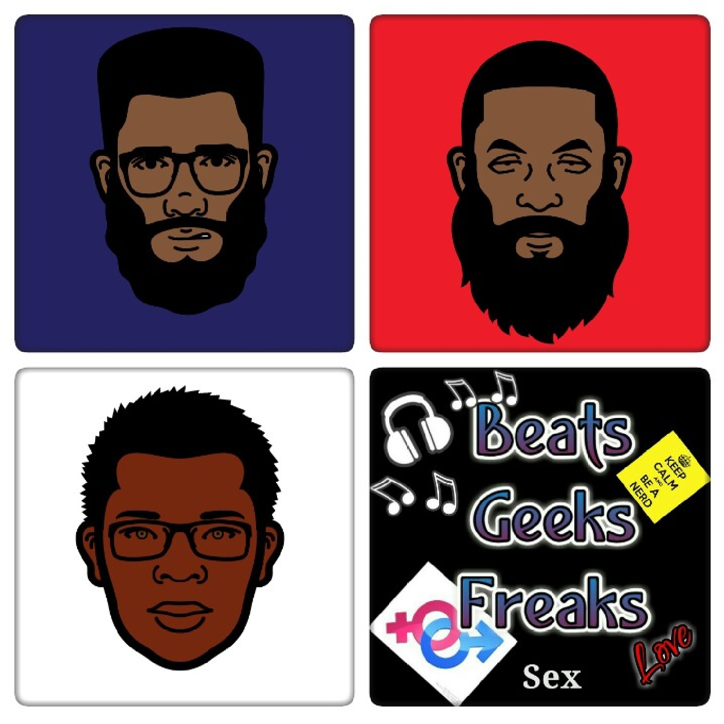 Beats, Geeks, and Freaks