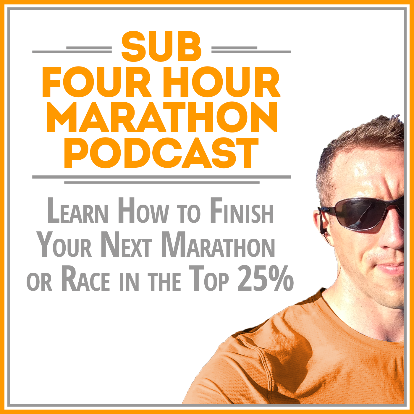 Sub Four Hour Marathon Podcast