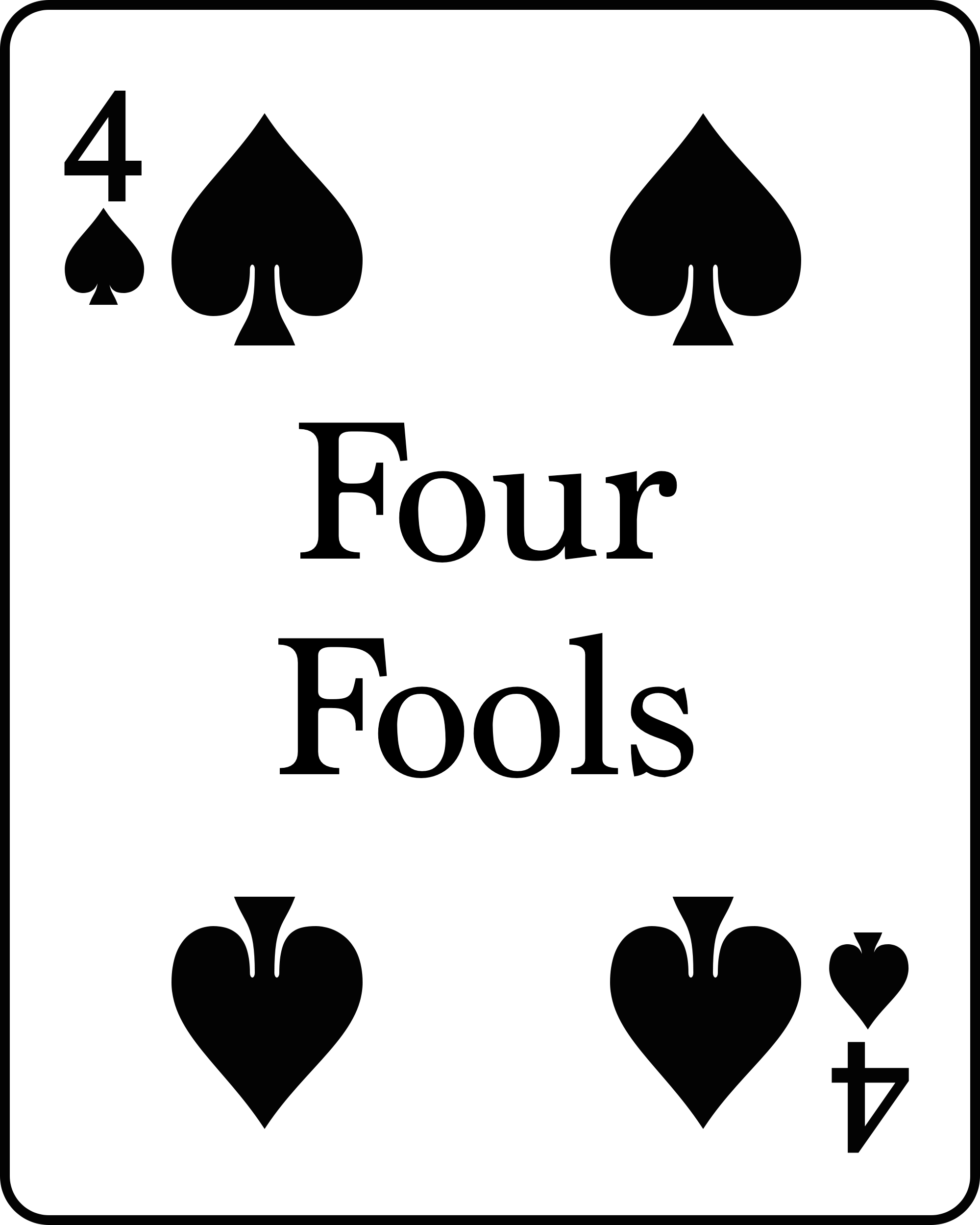 four fools
