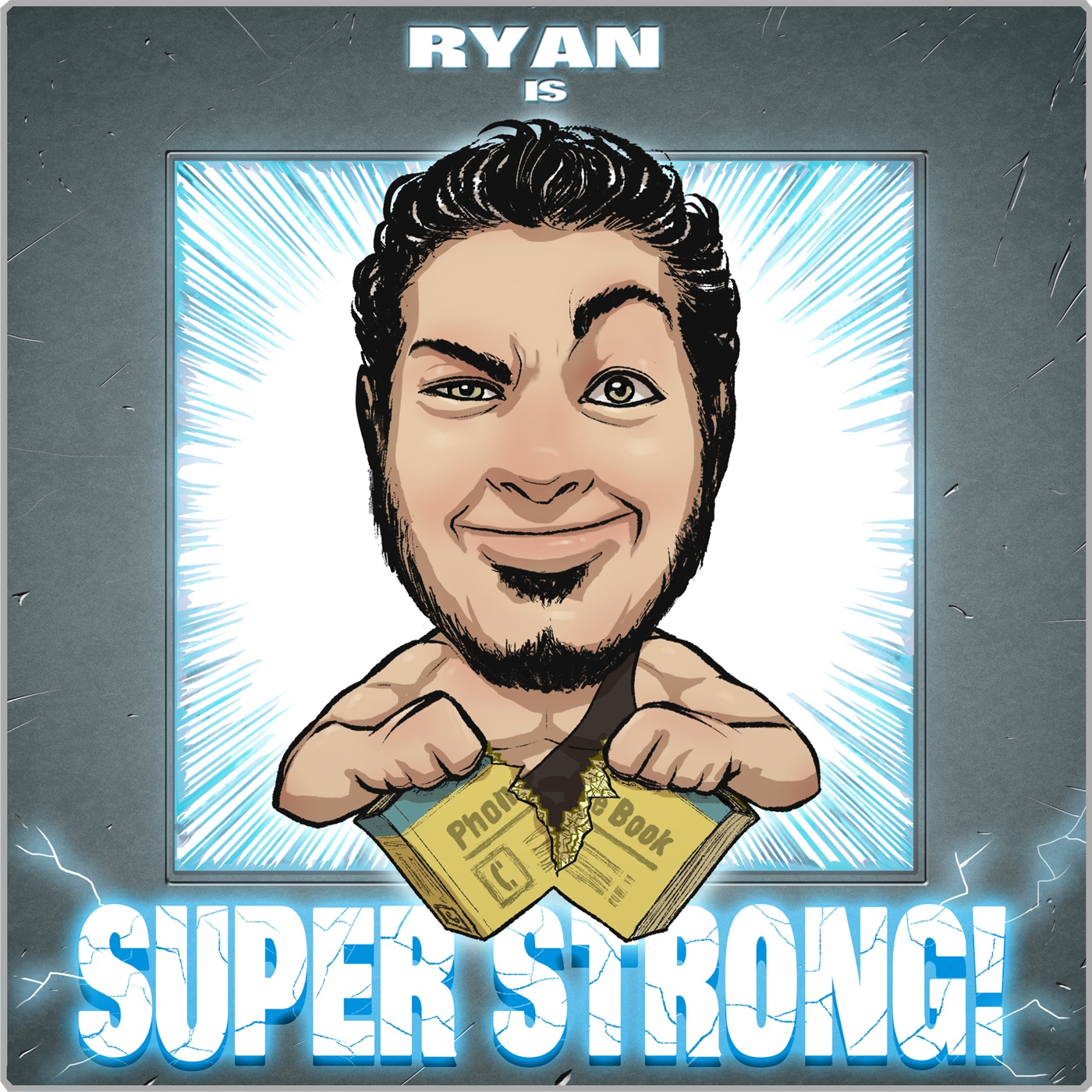 Ryan Is Super Strong!