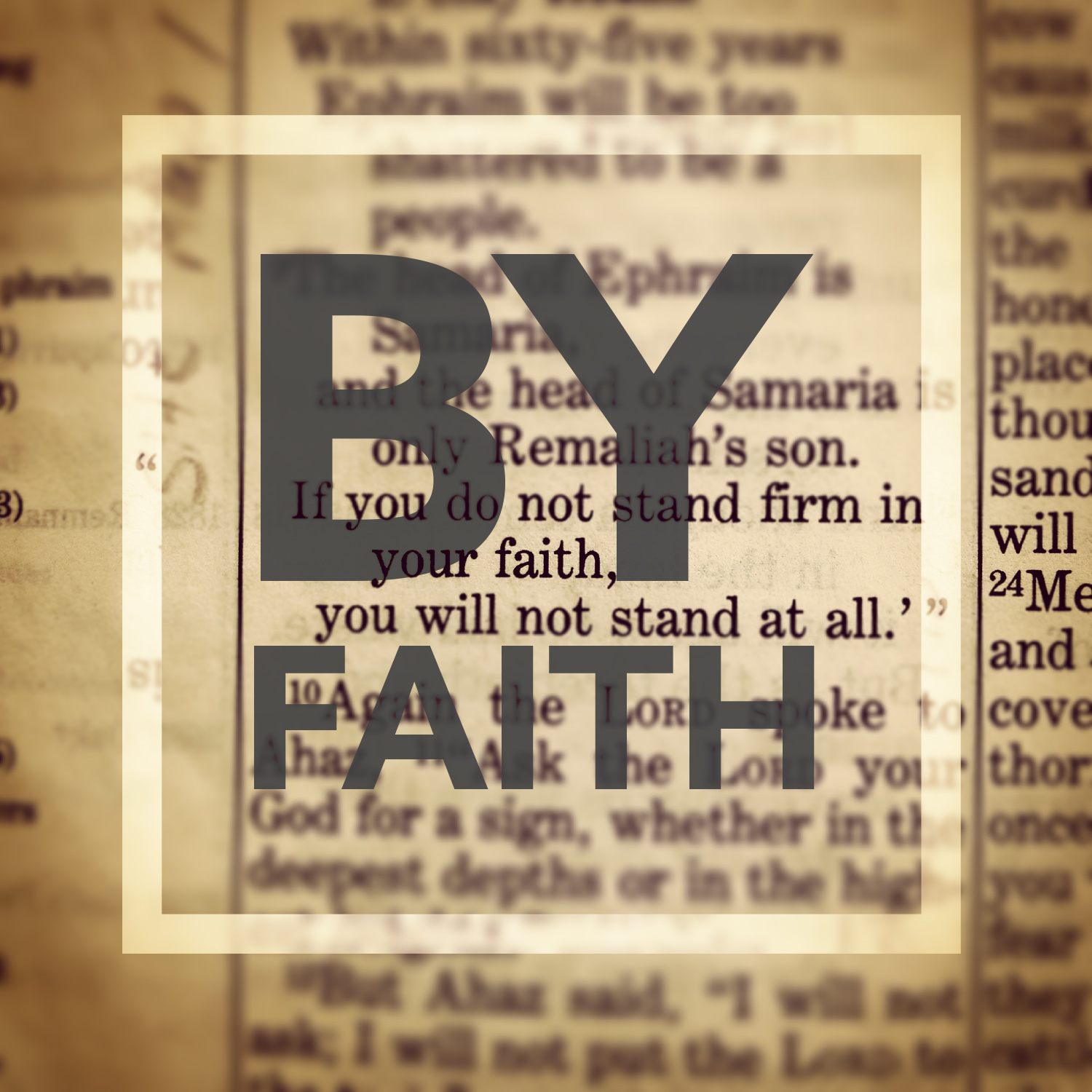 BY FAITH Podcast