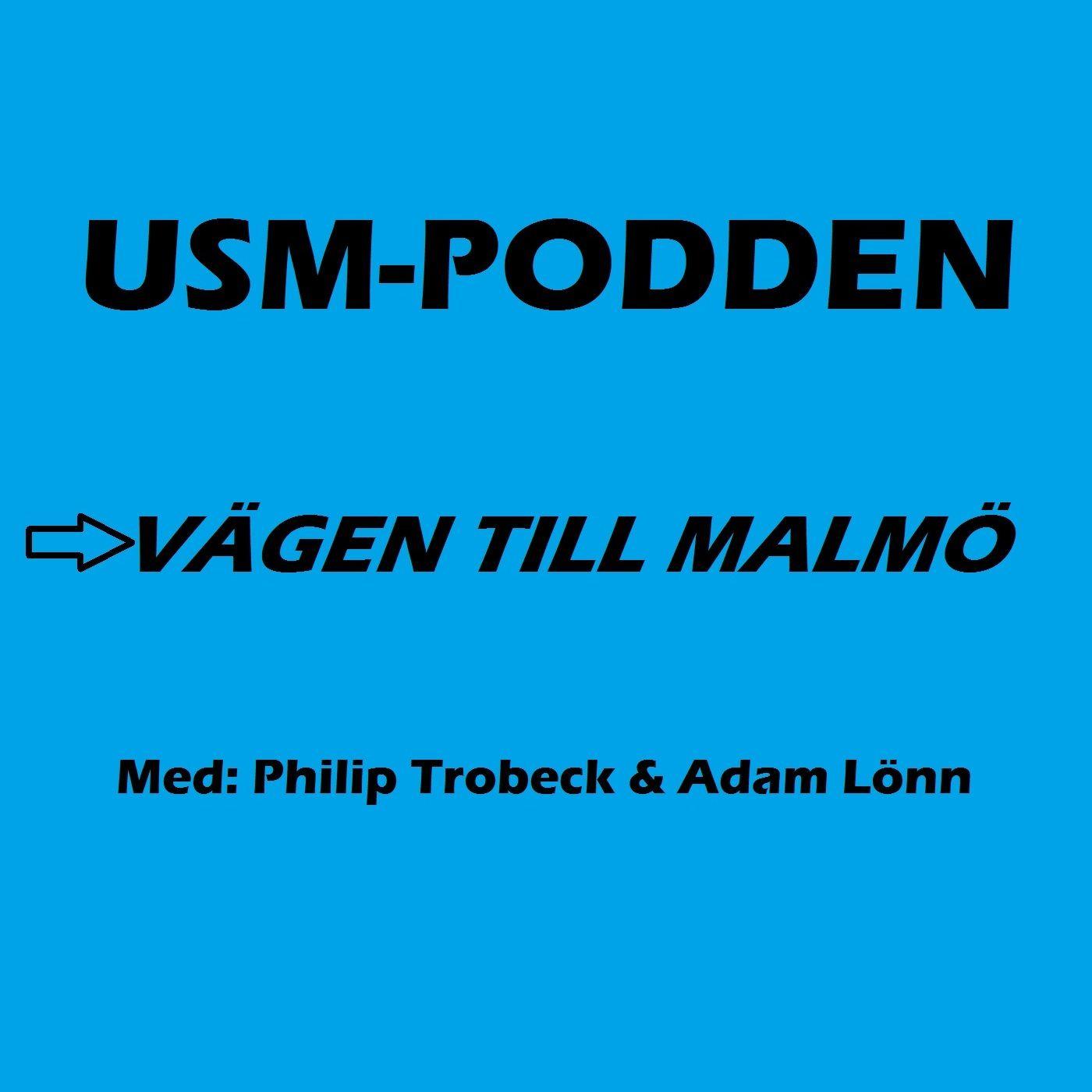 USM-PODDEN - Vägen till Malmö