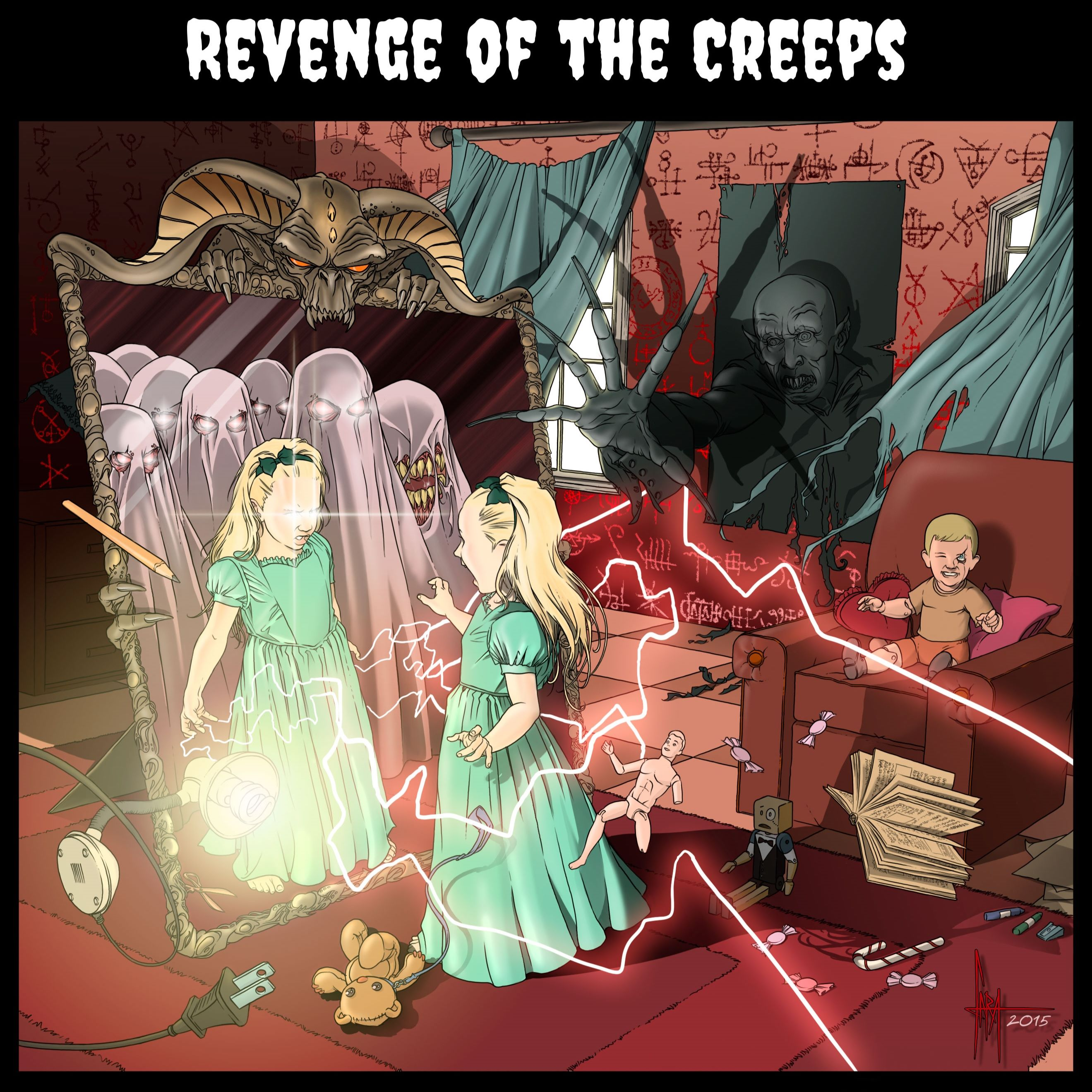 Revenge of the Creeps...and Other Scary Stories