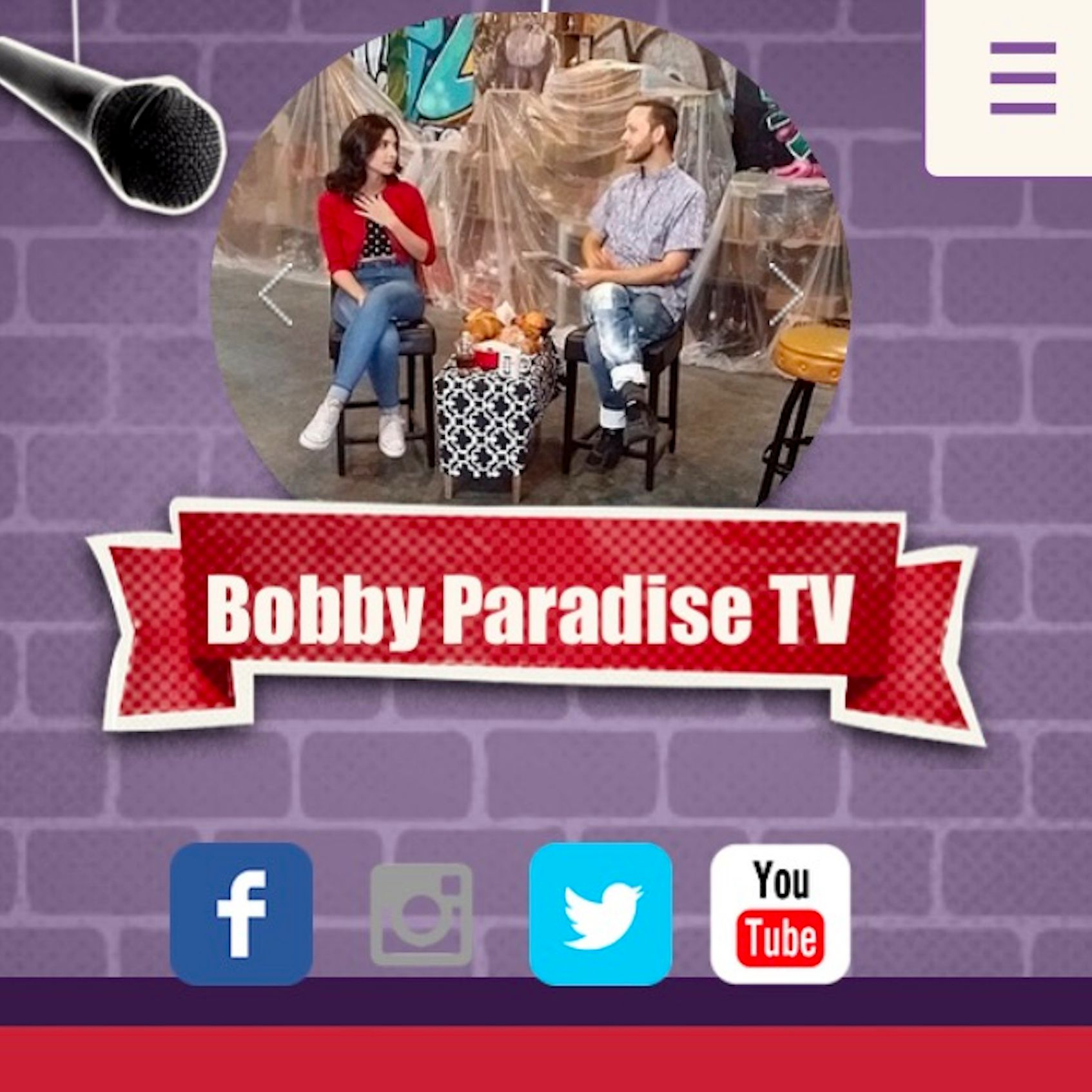 Bobby Paradise TV