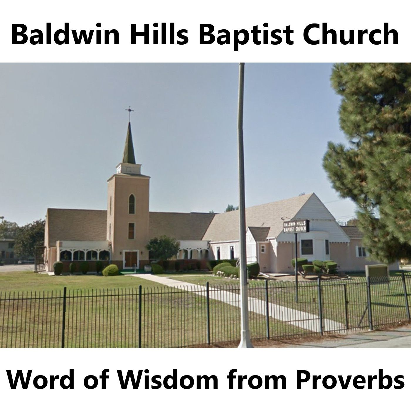 BHBC Word of Wisdom (from Proverbs)