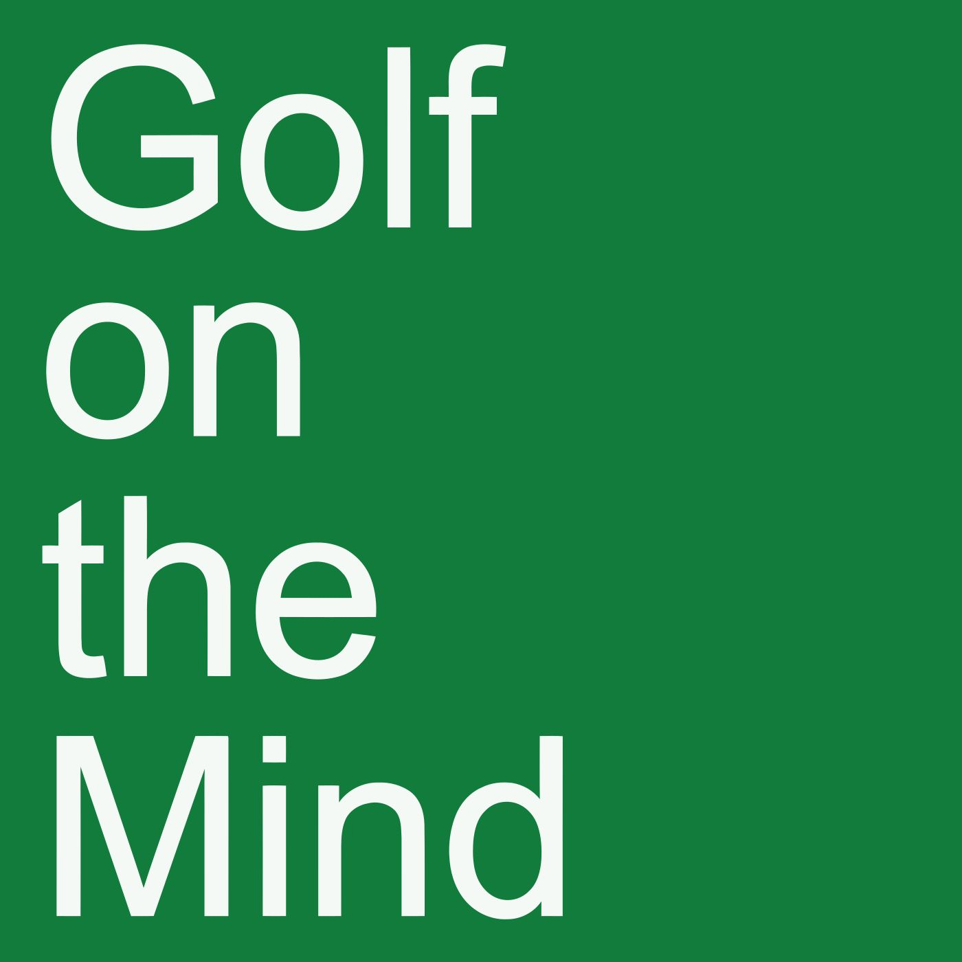 Golf on the Mind
