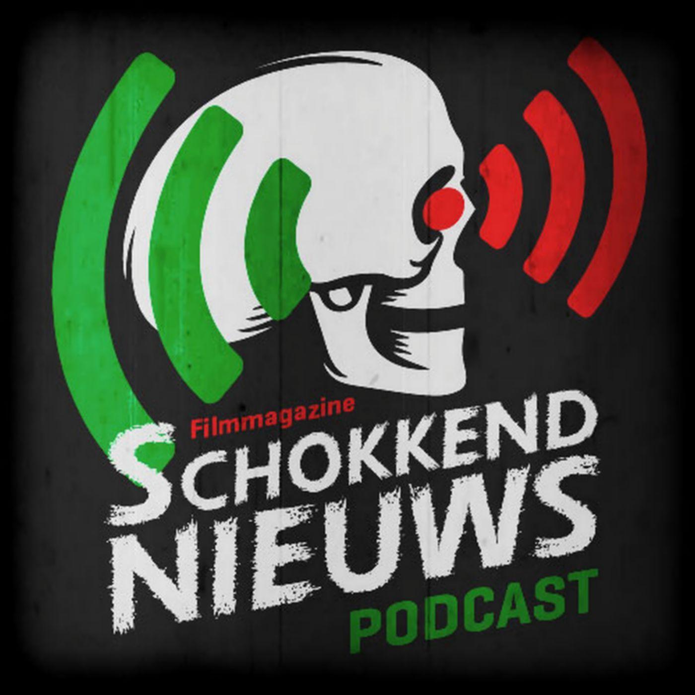 Schokkend Nieuws Podcast logo