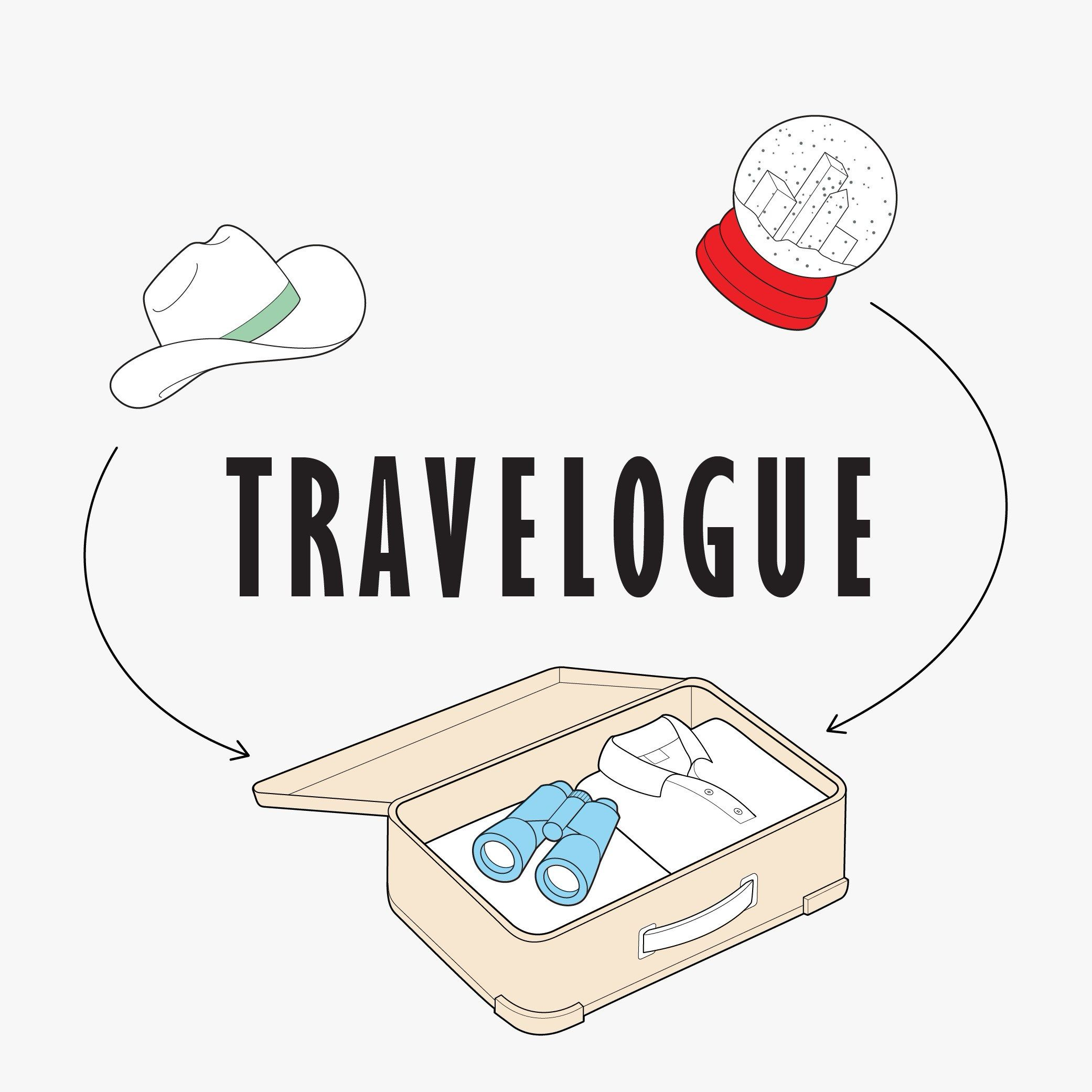 how to create a travelogue