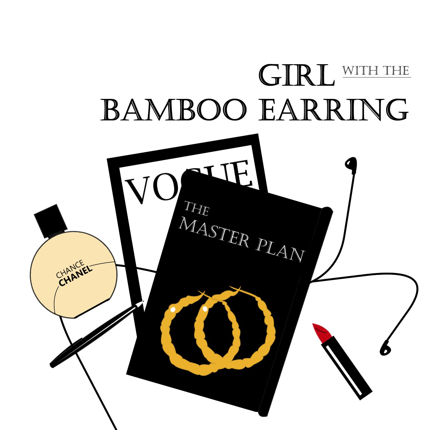 Image result for Girl with the Bamboo Earring