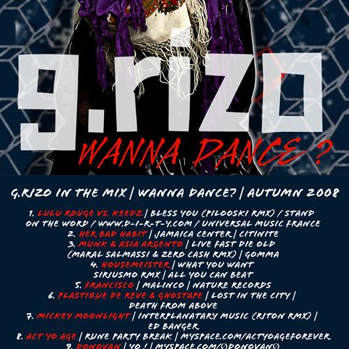 G.Rizo DJ Mix | WANNA DANCE? | Autumn 2008