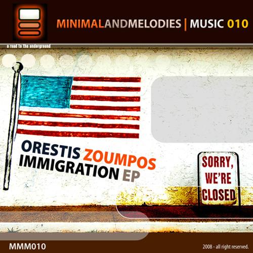 Orestis Zoumpos - Immigration MMM010 A