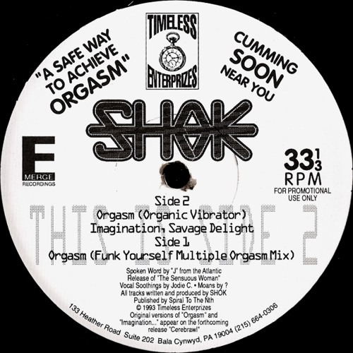 SHOK - IMAGINATION, SAVAGE DELIGHT (original 1993)