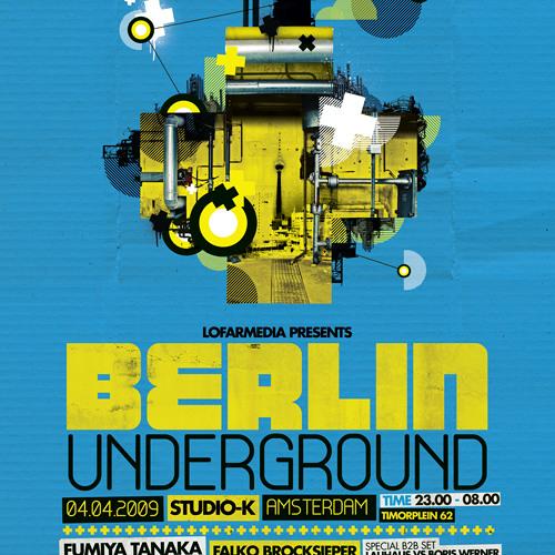 Fumiya Tanaka - Berlin Underground 04.04.2009 @ Studio K Amsterdam