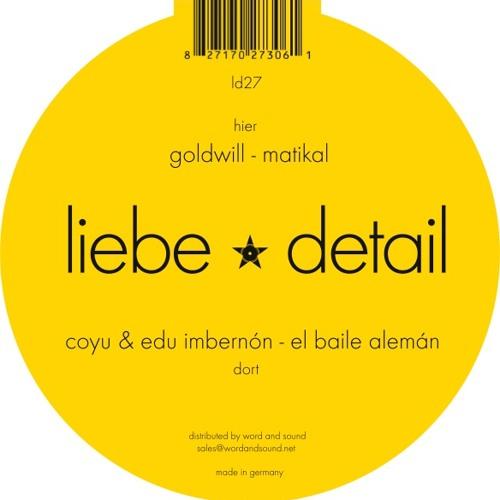 [liebe*detail 027] Coyu & Edu Imbernon - El Baile Aleman