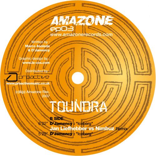 D'JAMENCY - Toundra EP /// Amazone Records - FR