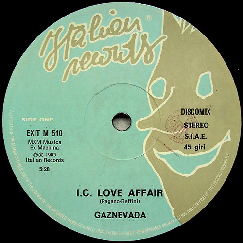 Gaznevada - I.C. Love Affair (Munk Edit)