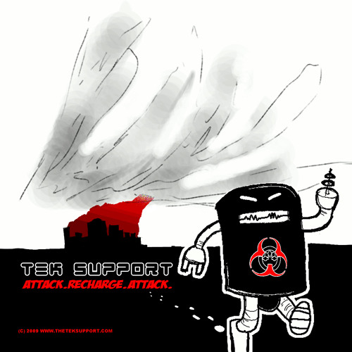 Attack. Recharge. Attack. (EP) by Tek Support