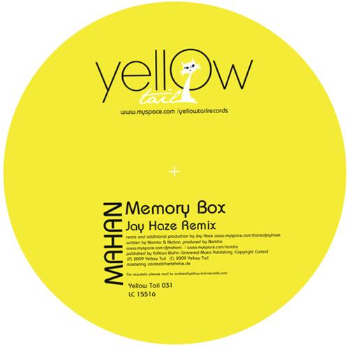 Mahan- Memory Box - Jay Haze RMX