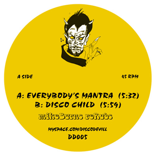 Deep Disco group exclusive: MikeBurns - Everybody's Mantra