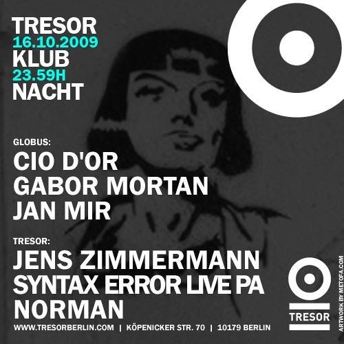 20091016_Tresor_Snork Labelnight_Norman