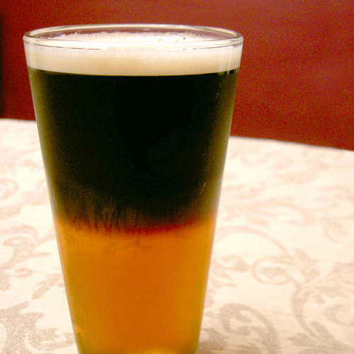On the Rocks: Black and Tan