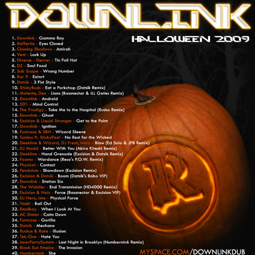 Downlink - Halloween 2009 - DJ Mix