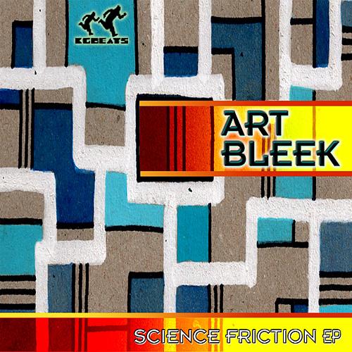 KGB022 ART BLEEK -  Science Friction EP (Promo)