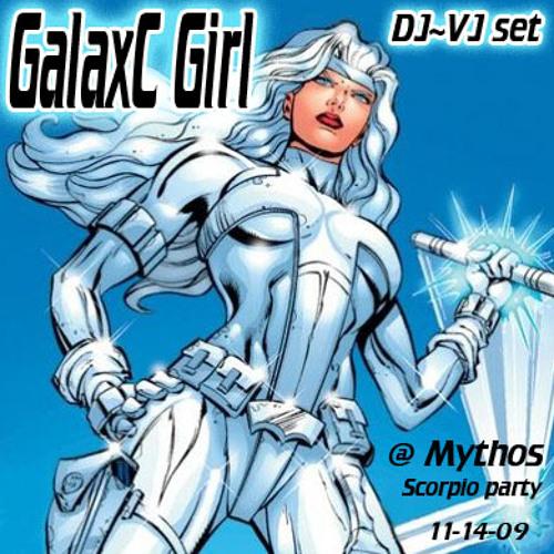 GalaxC Girl DJ-VJ set @ Mythos