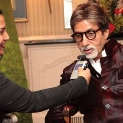 Amitabh Bachchan speaks to Ashanti OMkar