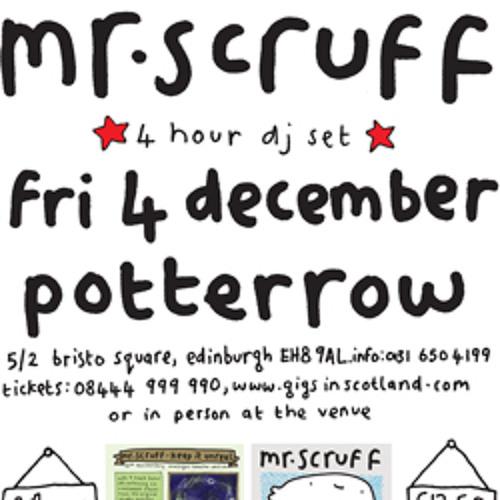 Mr Scruff live DJ mix from Potterrow, Edinburgh, Friday 4th December 2009