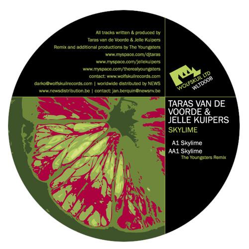 Taras van de Voorde ft. Jelle Kuipers - Skylime (Wolfskuil ltd 008) LQ Preview192 kbps