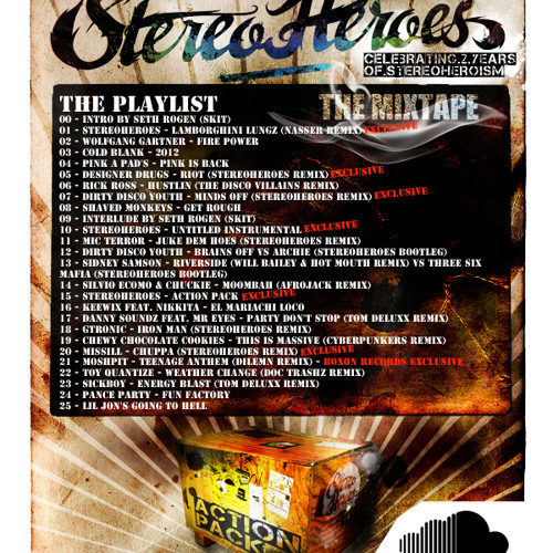 StereoHeroes - Action Pack (The Mixtape) (2010)