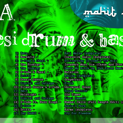 VA - Desi Drum & Bass final compilation 2009 mixed by Mahit // for Czwórka Polskie Radio