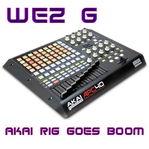 Akai Rig Goes Boom