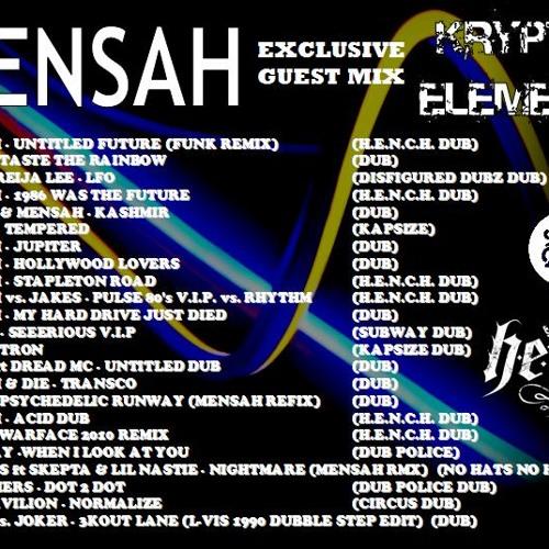 Kryptik:Elementz Exclusive Guest Mix 09: Mensah