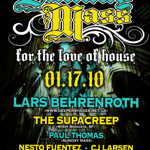 Lars Behrenroth DJ-Set at The End Up, SF Jan 17th 2010