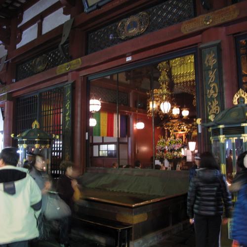Drums at Sensoji Temple Tokyo Japan